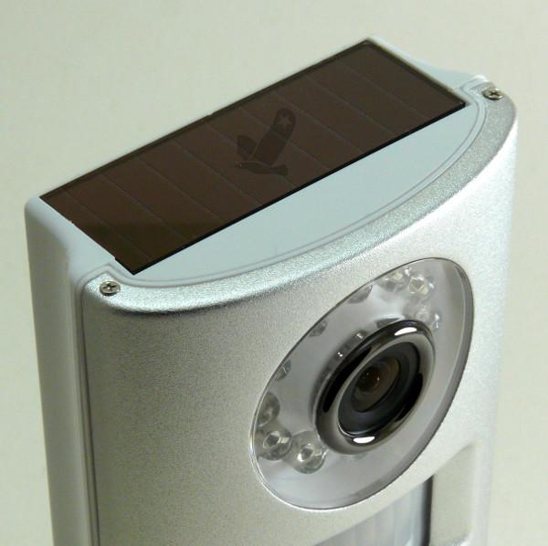 Alarme cam ra solaire avec sir ne eaglestar for Detecteur infrarouge exterieur sans fil