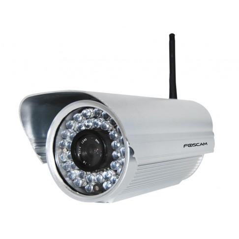 Caméra IP / Wi-Fi H.264 CCD fixe extérieur Foscam FI8602W